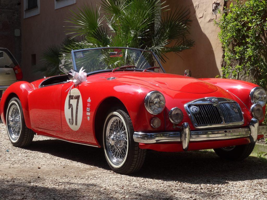 noleggio auto d'epoca a roma - Miki Mille Miglia 1959